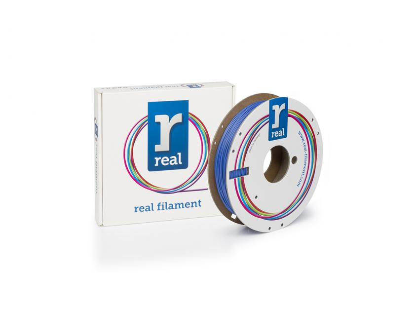 3D Printer Filament Real Flex 1.75mm Spool of 0.5Kg Blue (REALFLEXBLUE500MM17)