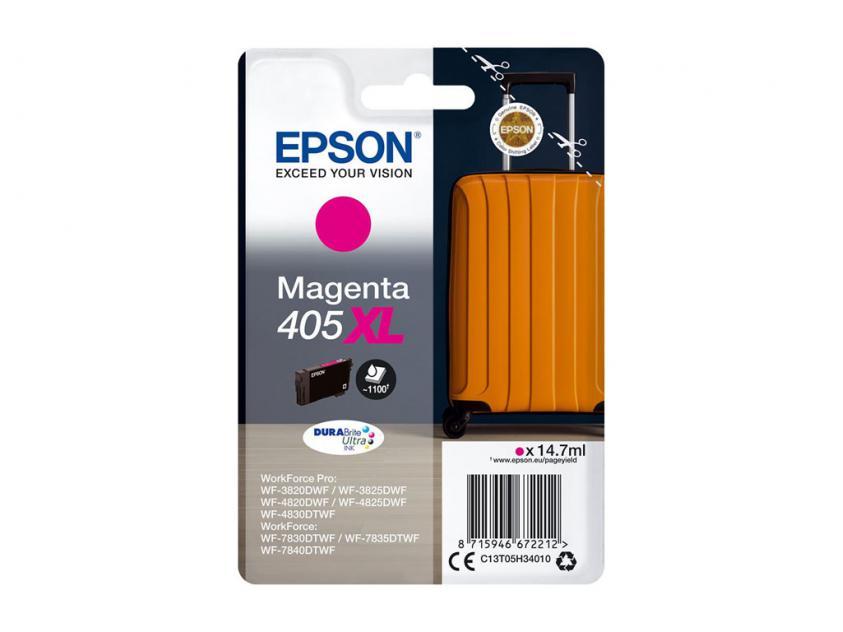 Μελάνι Epson 405XL Magenta 1100Pgs (C13T05H34010)