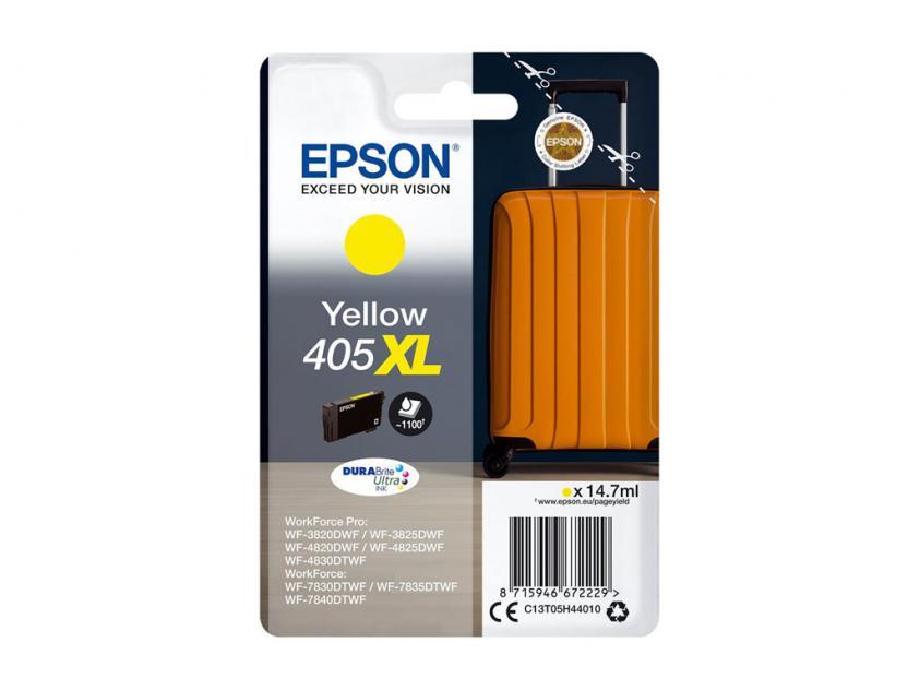 Μελάνι Epson 405XL Yellow 1100Pgs (C13T05H44010)