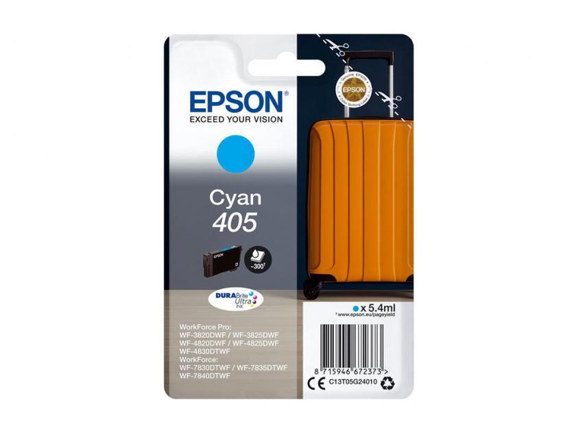 Μελάνι Epson 405 Cyan 300Pgs (C13T05G24010)
