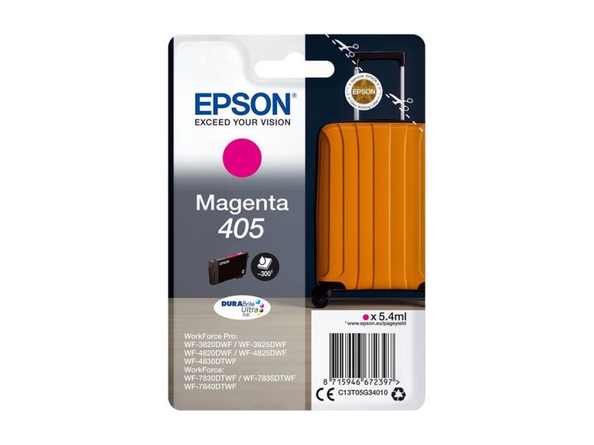 Μελάνι Epson 405 Magenta 300Pgs (C13T05G34010)