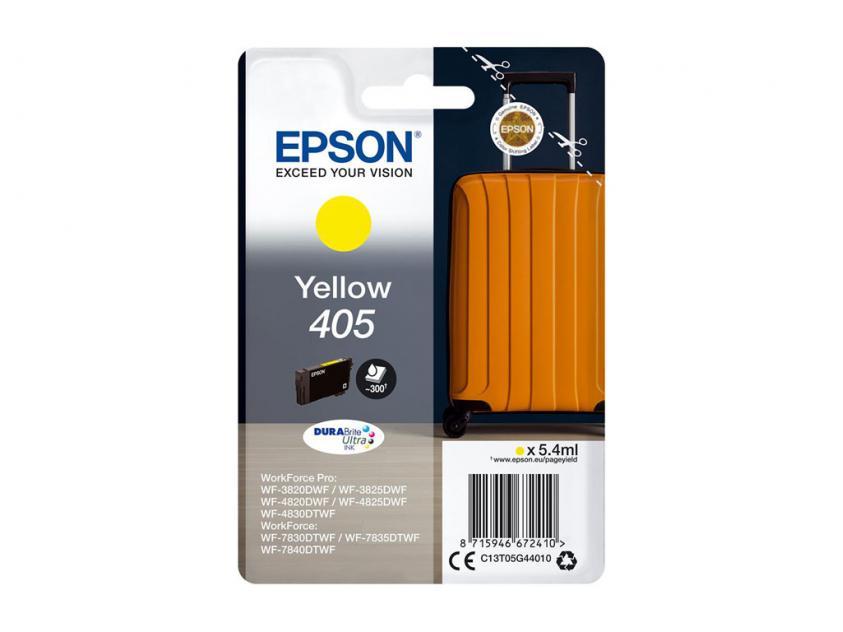 Μελάνι Epson 405 Yellow 300Pgs (C13T05G44010)