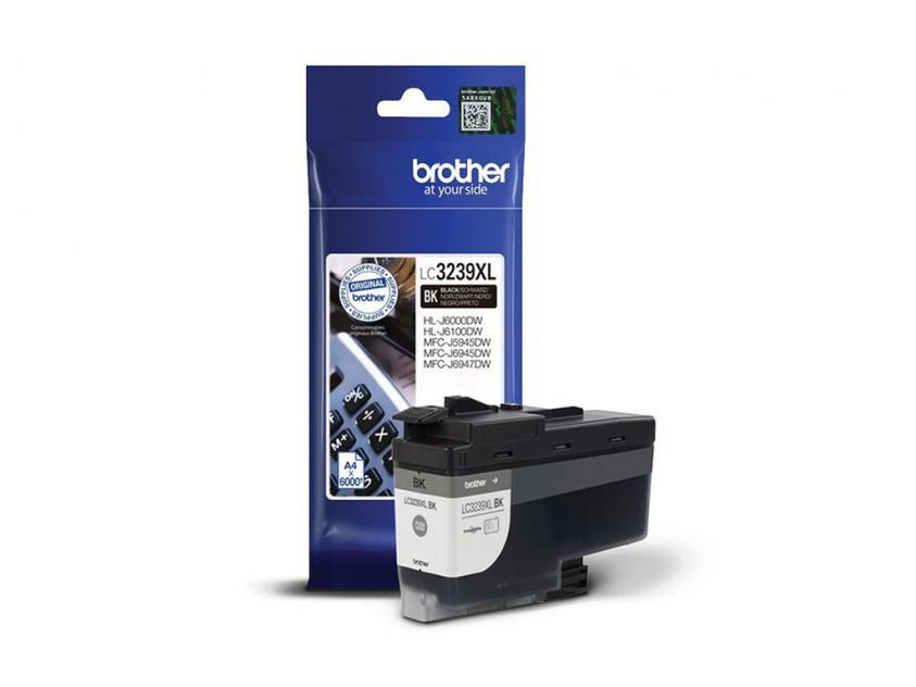 Μελάνι Brother LC-3239XLBK Black 6000Pgs (LC-3239XLBK)