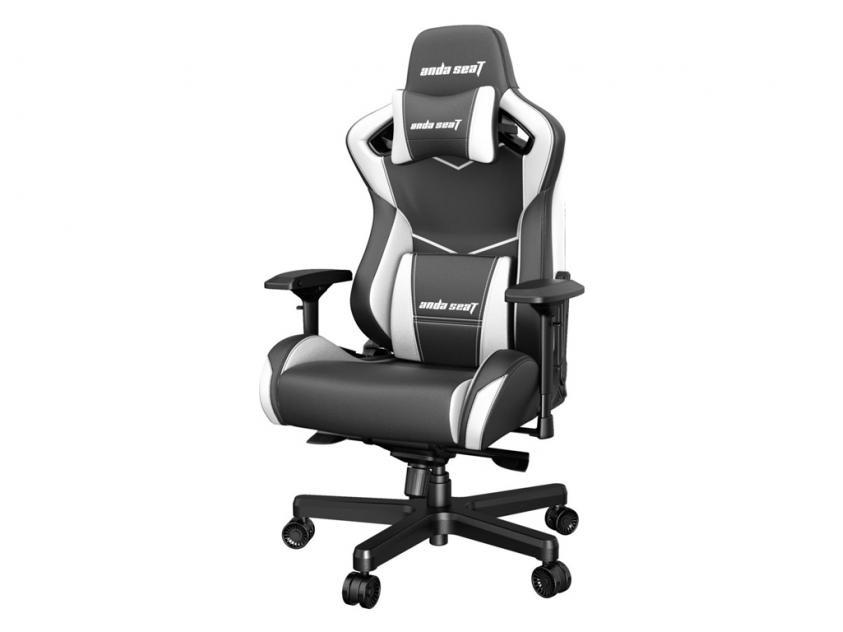 Gaming Καρέκλα Anda Seat AD12XL Kaiser-II Black/White (AD12XL-07-BW-PV-W01)