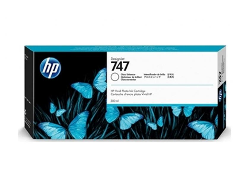 Μελάνι HP 747 Gloss Enhancer 300ml (P2V87A)
