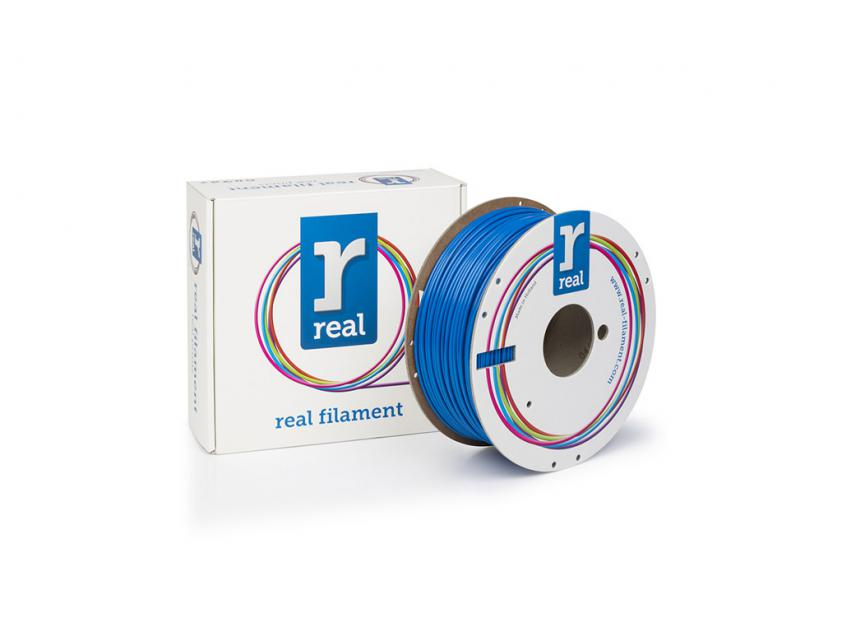 3D Printer Filament Real PETG 1.75mm Spool of 1Kg Blue (NLPETGSBLUE1000MM175)