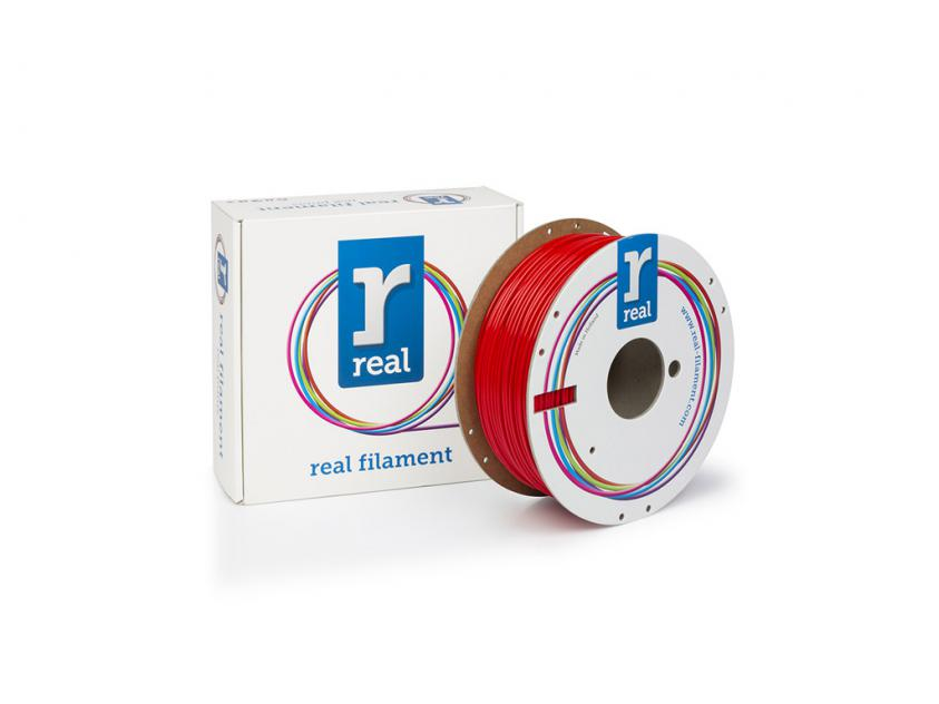 3D Printer Filament Real PETG 1.75mm Spool of 1Kg Red (NLPETGSRED1000MM175)