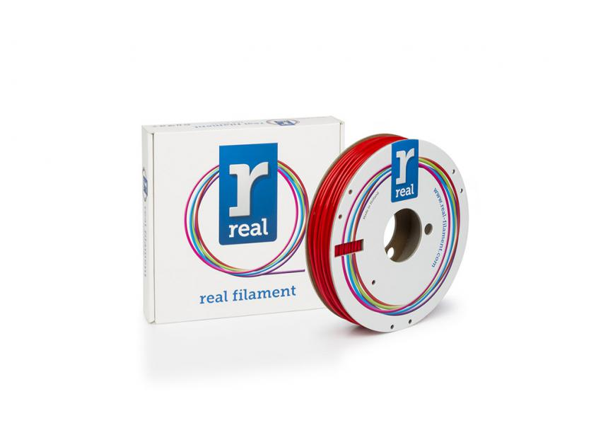 3D Printer Filament Real PETG 1.75mm Spool of 0.5Kg Red (NLPETGSRED500MM175)