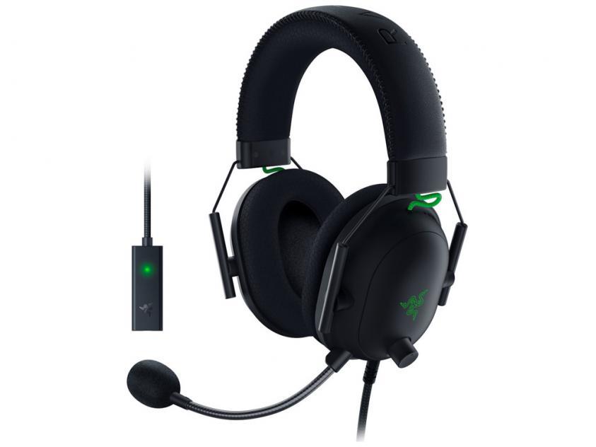 Gaming Headset Razer Blackshark V2 7.1 & USB Audio Card THX PC/PS4/PS5 (RZ04-03230100-R3M1)