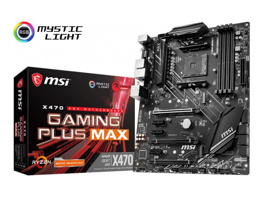 Μητρική MSI X470 Gaming Plus Max (7B79-017R)