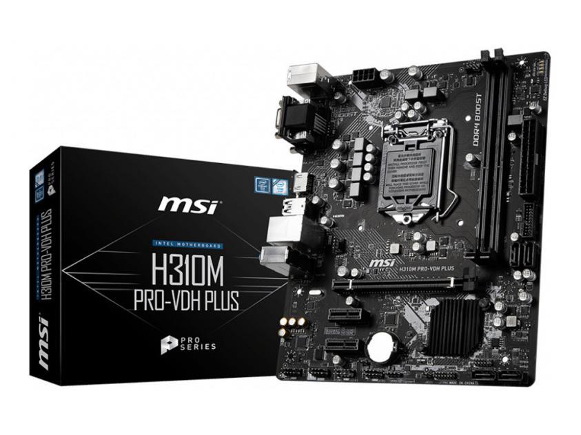 Μητρική MSI H310M PRO-VDH Plus (7C09-001R)