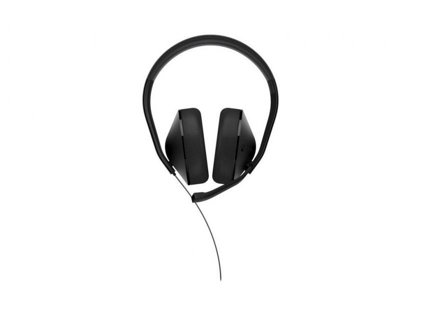 Gaming Ακουστικά Microsoft Xbox One Stereo Black (S4V-00013)