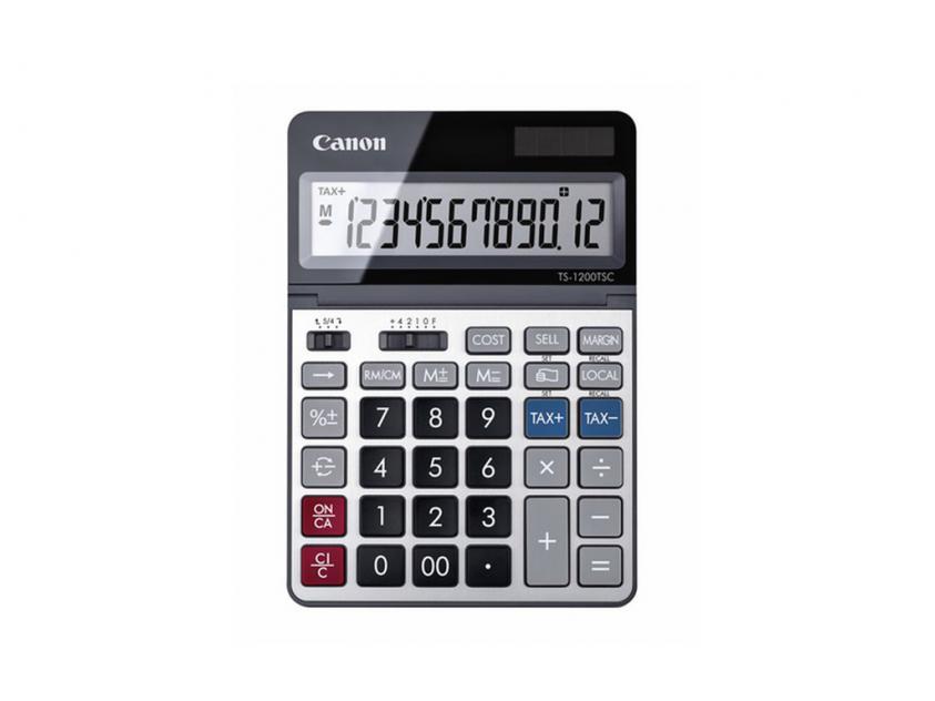 Αριθμομηχανή Canon TS-1200TSCDBL (2468C002AA)