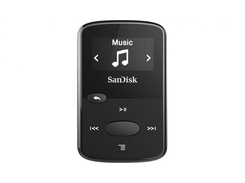 MP3 Player Sandisk Clip Jam 8GB Black (SDMX26/008G/G46K)