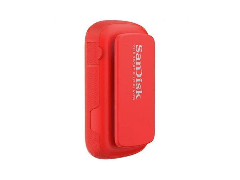 MP3 Player Sandisk Clip Sport Plus 16GB Red (SDMX28/016G/G46R)