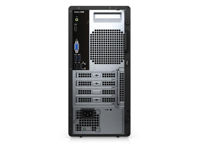 Desktop Dell Vostro 3888 MT i5-10400/8GB/256GBSSD/W10P/3Y