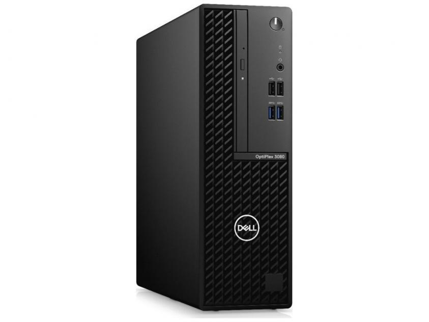 Desktop Dell Optiplex 3080 SFF i3-10100/4GB/128GBSSD/W10P/5Y