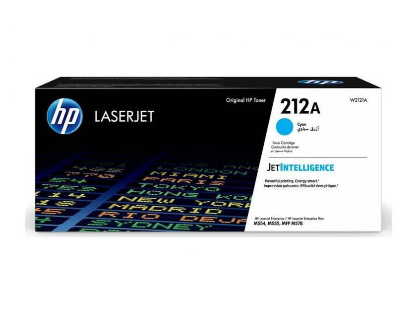 Toner HP 212A Cyan 4500Pgs (W2121A)