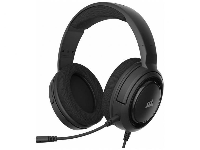 Gaming Headset Corsair HS45 Carbon (CA-9011220-EU)
