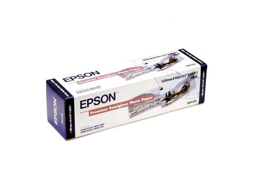 Φωτογραφικό Χαρτί Epson Semi Gloss 250g/m² 329mm x 10m (C13S041338)