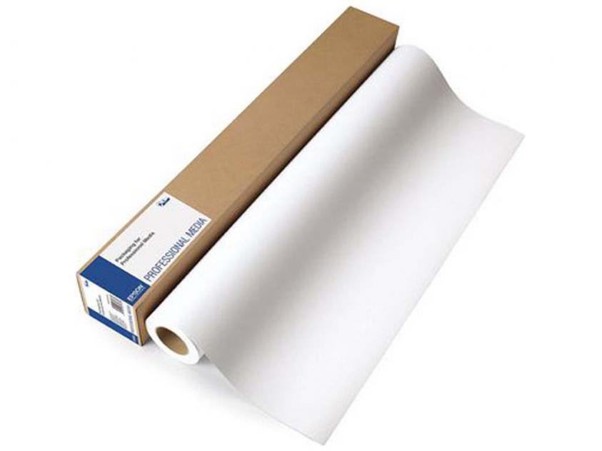 Χαρτί Ρολό Plotter Epson Singleweight Matte Paper (432mm x 40m) 120gr/m² (C13S041746)