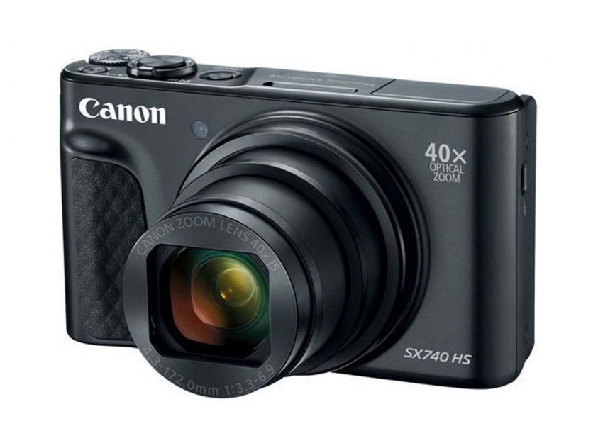 Φωτογραφική Μηχανή Canon PowerShot SX740 HS Black (2955C002AA)
