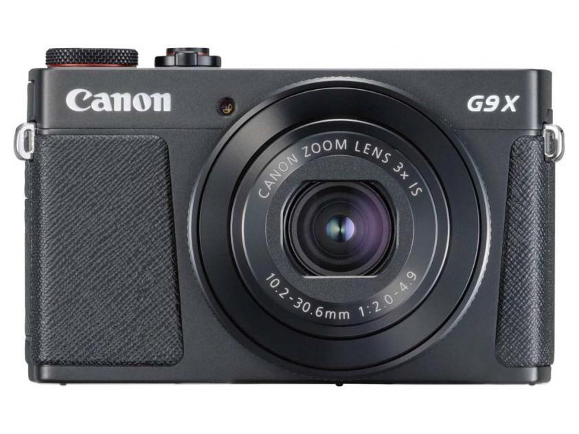 Φωτογραφική Μηχανή Canon PowerShot G9 X Mark II Black (1717C002AA)