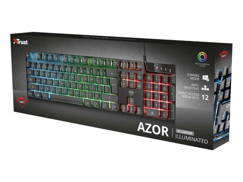 Gaming Keyboard Trust GXT 835 Azor Wired (23969)