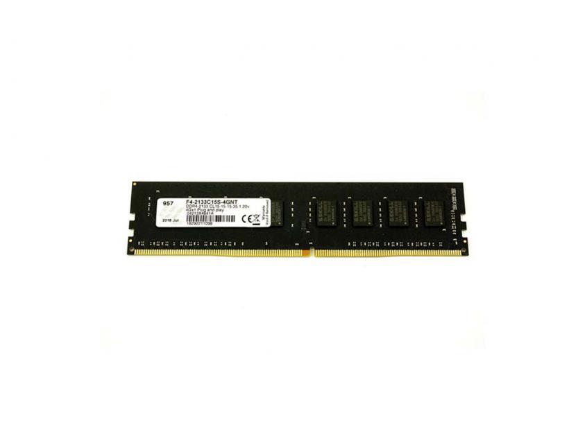 Μνήμη RAM G.Skill Value 4GB DDR4 2133MHz (F4-2133C15S-4GNT)