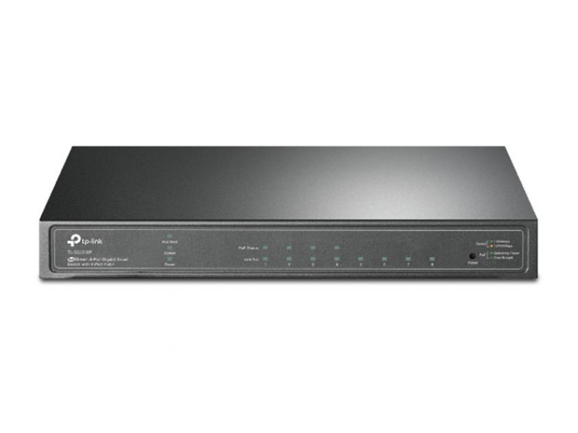 Switch TP-Link TL-SG2008P 8-Port 10/100/1000 Mbps v2 (TL-SG2008P)