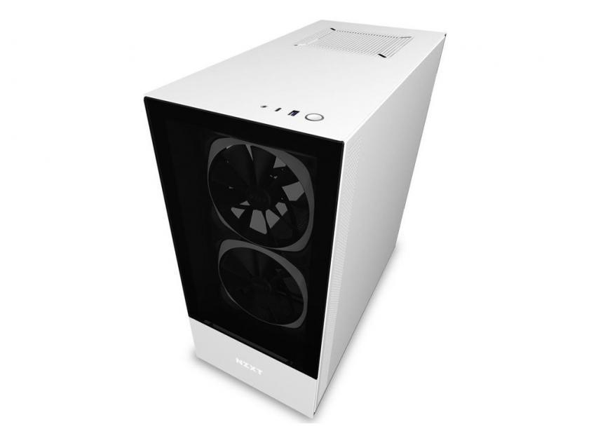 Κουτί NZXT H510 Elite RGB White (CA-H510E-W1)