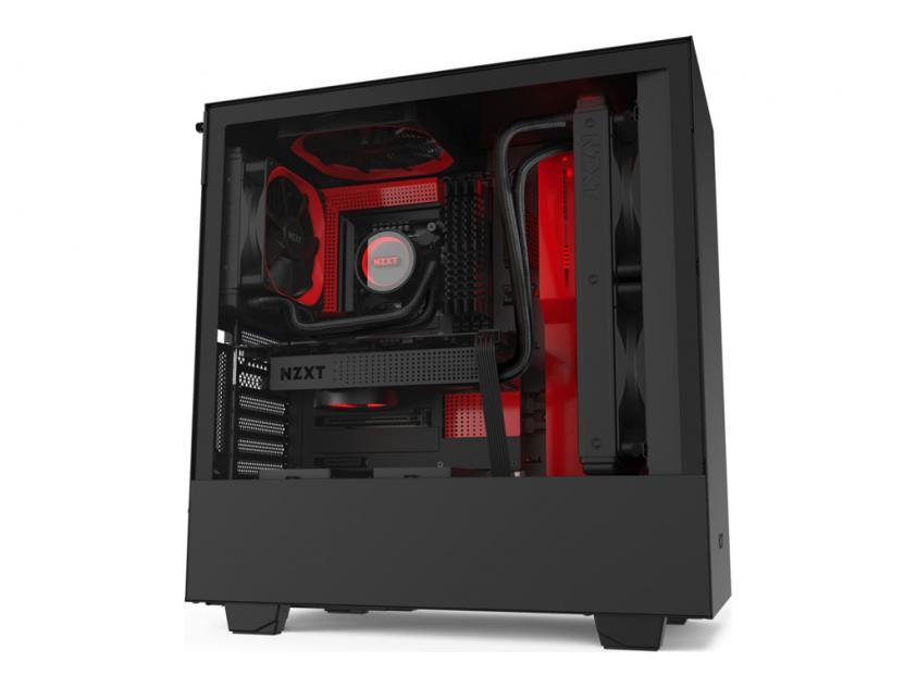 Κουτί NZXT H510i Black/Red (CA-H510i-BR)
