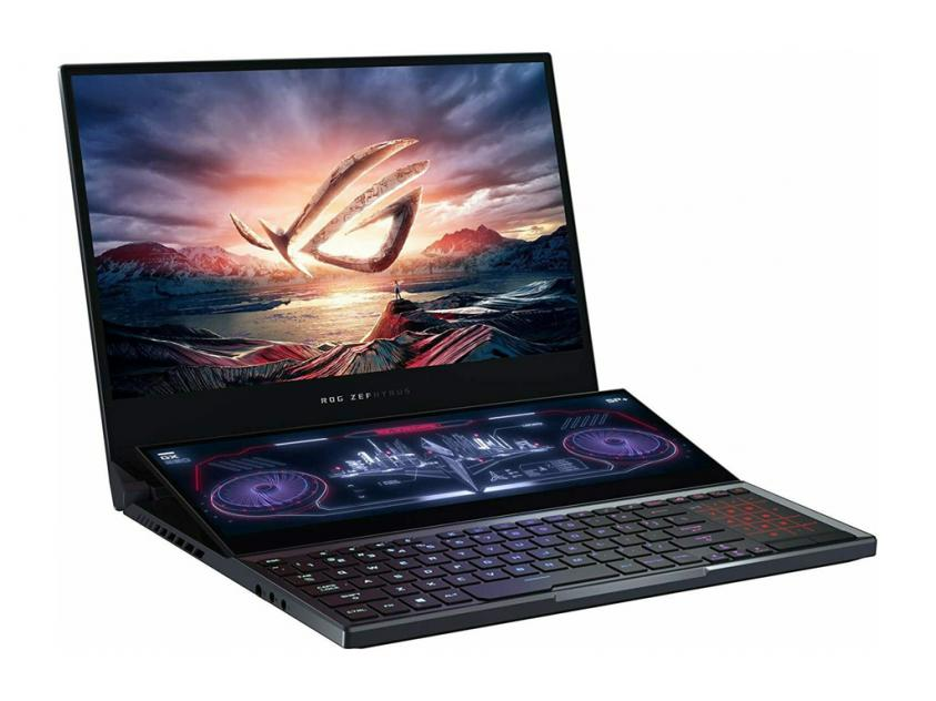 Laptop Asus ROG Zephyrus Duo 15 GX550LXS-HC029R 15.6-inch Touch i9-10980HK/32GB/2x1TBSSD/GeForce RTX 2080/W10P/2Y (90NR02Z1-M03710)