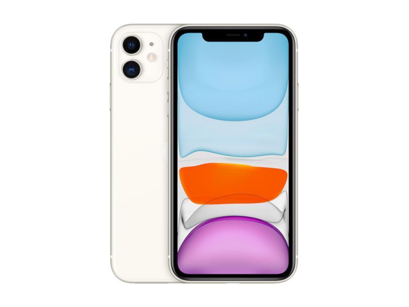 Apple iPhone  11 256GB White (MHDQ3GH/A) *δεν συμπεριλαμβάνεται power adapter & Earpods*