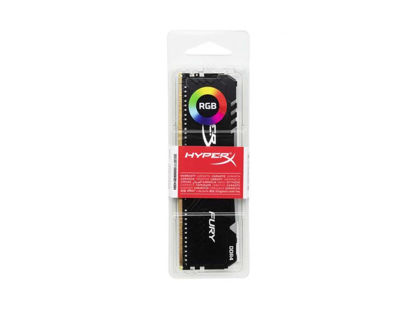 Μνήμη RAM Kingston HyperX Fury 8GB DDR4 2666MHz CL16 (HX426C16FB3A/8)