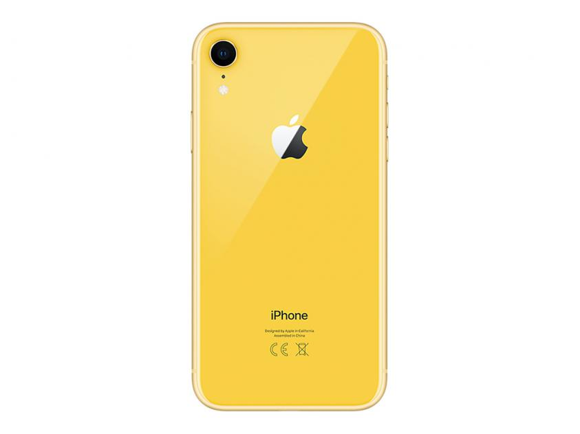 Apple iPhone XR 128GB Yellow (MH7P3GH/A) *δεν συμπεριλαμβάνεται power adapter & Earpods*
