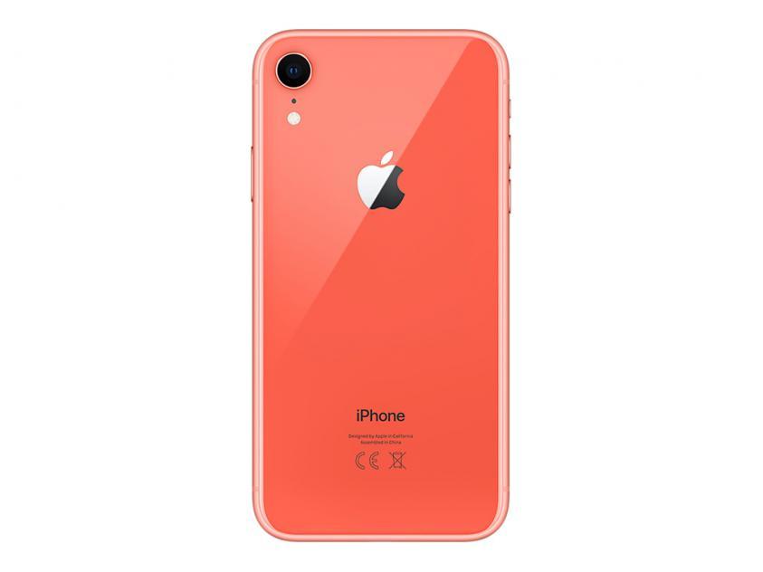 Apple iPhone XR 128GB Coral (MH7Q3GH/A) *δεν συμπεριλαμβάνεται power adapter & Earpods*