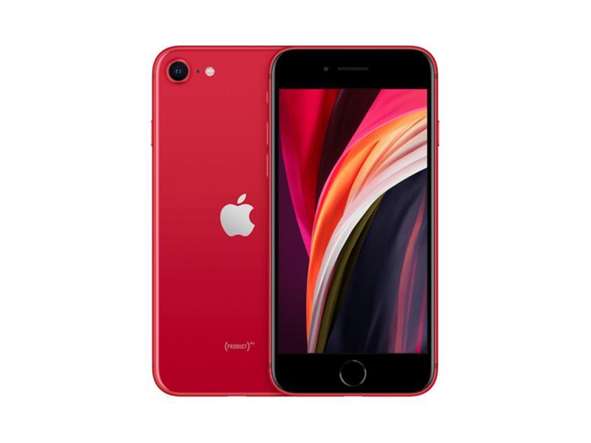 Apple iPhoneSE 2020 64GB Red (MHGR3GH/A) *δεν συμπεριλαμβάνεται power adapter & Earpods*