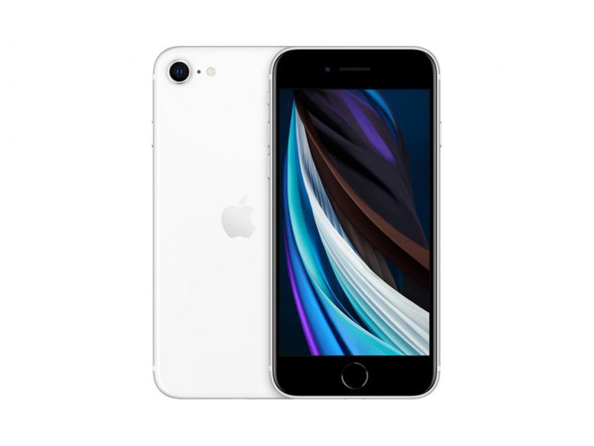 Apple iPhoneSE 2020 128GB White (MHGU3GH/A) *δεν συμπεριλαμβάνεται power adapter & Earpods*