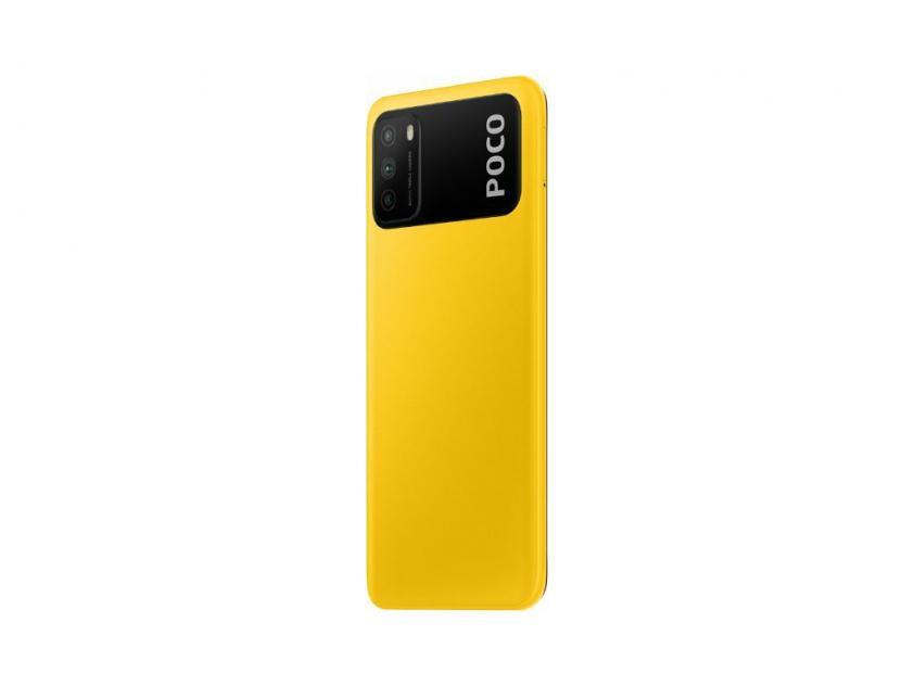 Κινητό Τηλέφωνο Xiaomi PocoM3 Dual Sim 4GB/64GB Yellow (POCM3464YL)