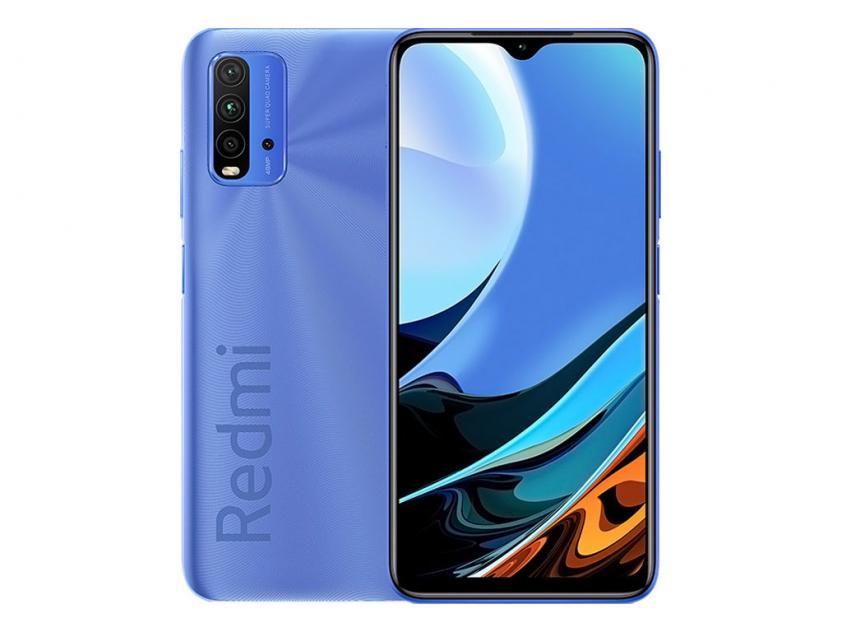 Κινητό Τηλέφωνο Xiaomi Redmi 9T Dual Sim 4GB/128GB Blue (RMI9T4128BL)