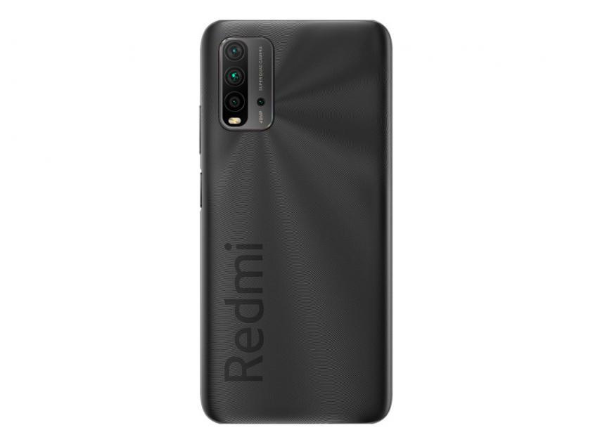 Κινητό Τηλέφωνο Xiaomi Redmi 9T Dual Sim 4GB/128GB Grey (RMI9T4128GY)