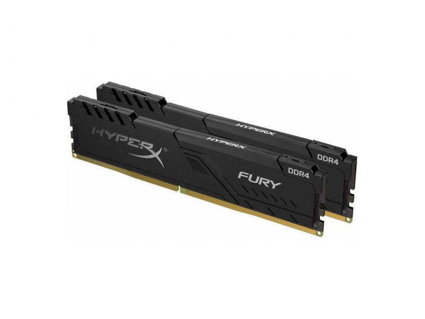 Μνήμη RAM Kingston HyperX Fury 16GB Kit (2X8GB) DDR4 2400MHz (HX424C15FB3K2/16)