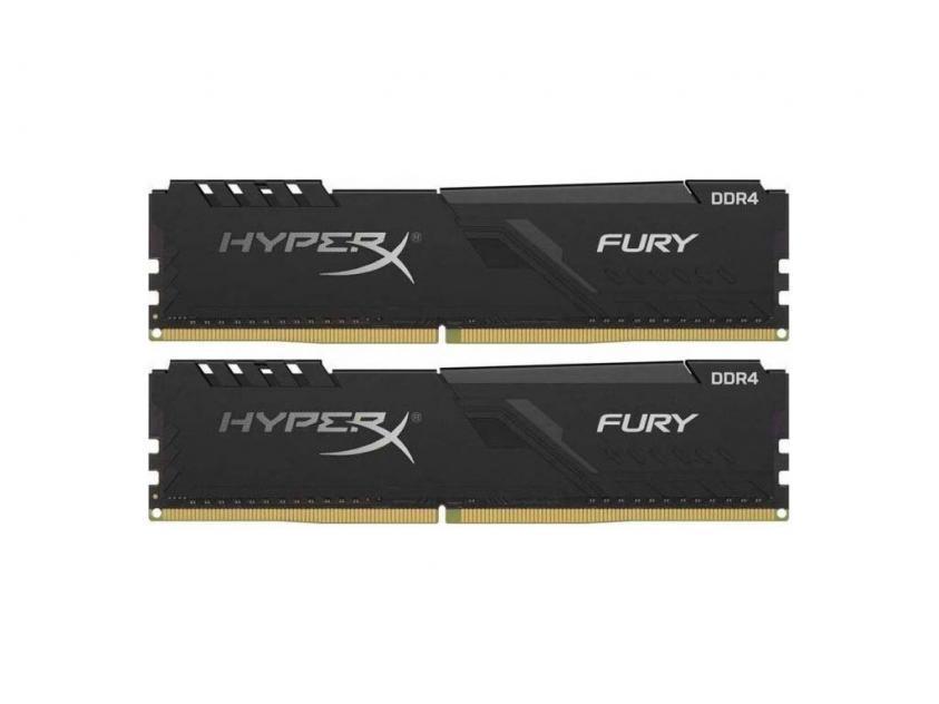 Μνήμη RAM Kingston HyperX Fury 16GB Kit (2X8GB) DDR4 2666MHz (HX426C16FB3K2/16)