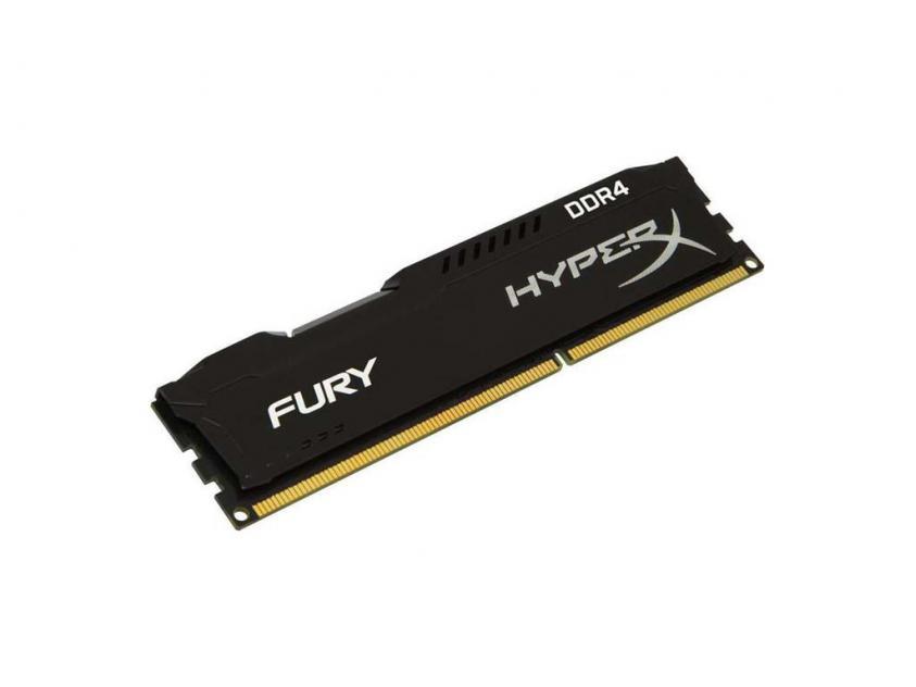 Μνήμη RAM Kingston HyperX Fury Black 8GB DDR4 3200MHz (HX432C16FB3/8)