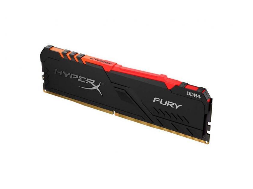 Μνήμη RAM Kingston HyperX Fury RGB 8GB DDR4 3200MHz (HX432C16FB3A/8)