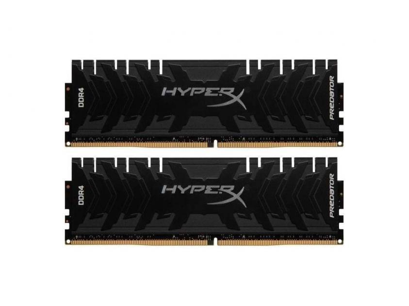 Μνήμη RAM Kingston HyperX Predator 16GB Kit (2X8GB) DDR4 3200MHz (HX432C16PB3K2/16)