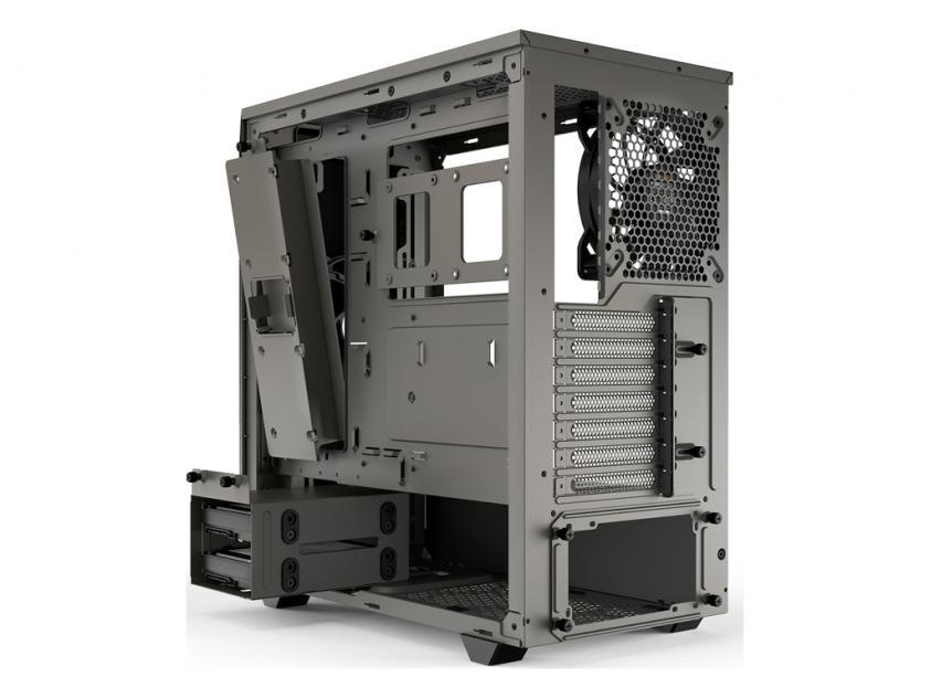 Κουτί Be Quiet Pure Base 500 Metallic Gray (BG036)