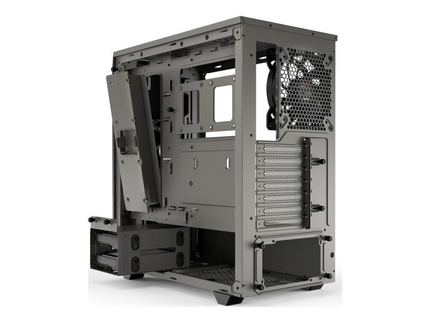 Κουτί Be Quiet Pure Base 500 Window Metallic Gray (BGW36)