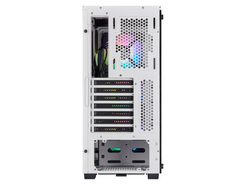 Κουτί Corsair iCUE 220T RGB Tempered Glass White (CC-9011191-WW)